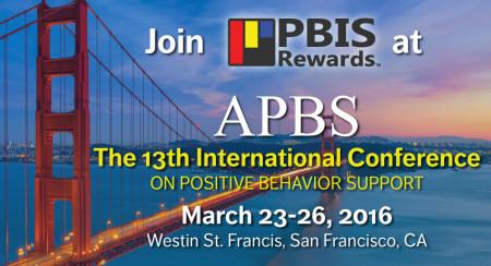 pbis rewards at APBS 2016 San Francisco