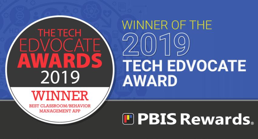 2019 Tech Edvocate Award Winner Best Classroom/Behavior Management Tool