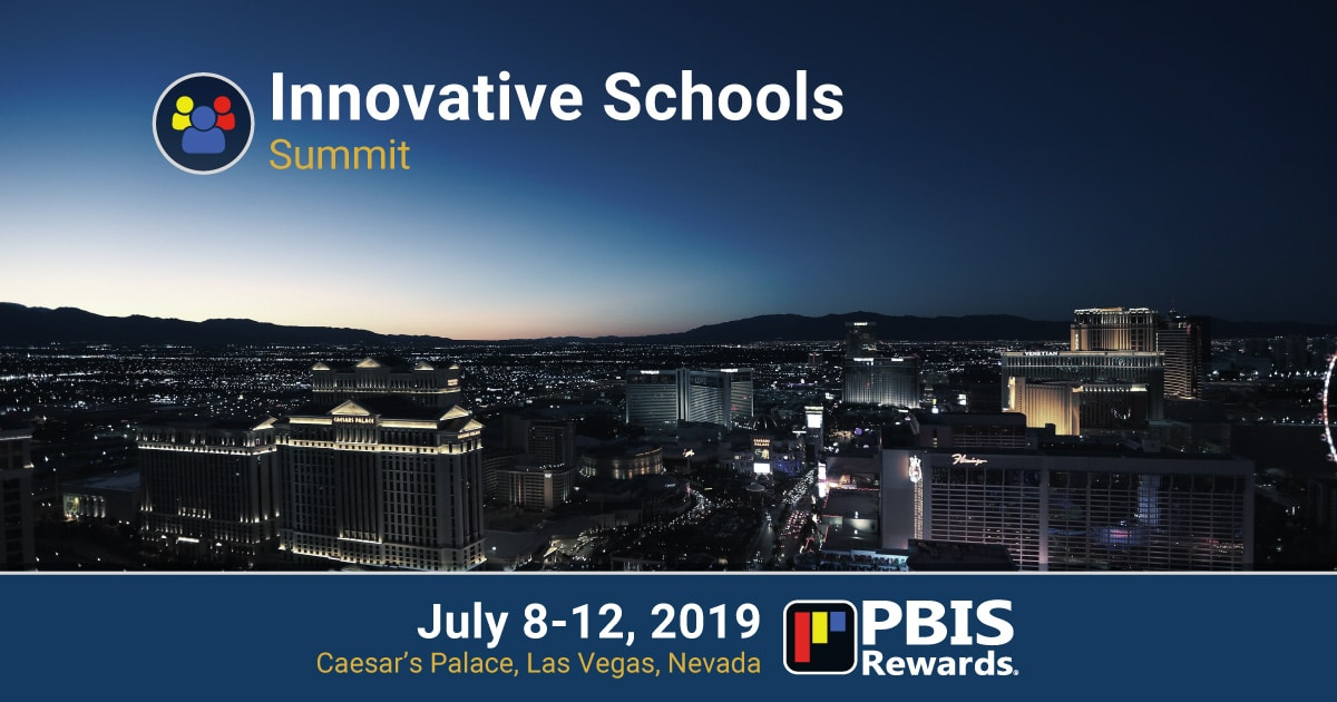 PBIS Rewards Innovative School Summit Las Vegas 2019
