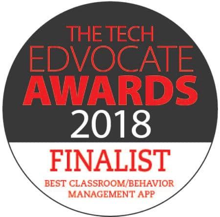 PBIS Rewards finalist 2018 Tech Edvocate Awards PBIS App or Tool