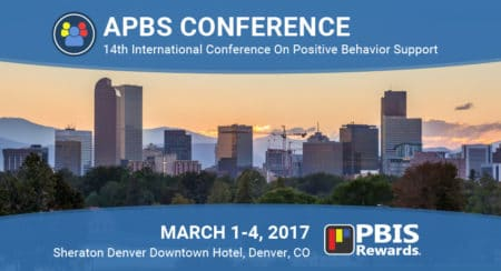 PBIS Rewards at the 2017 APBS conference in Denver