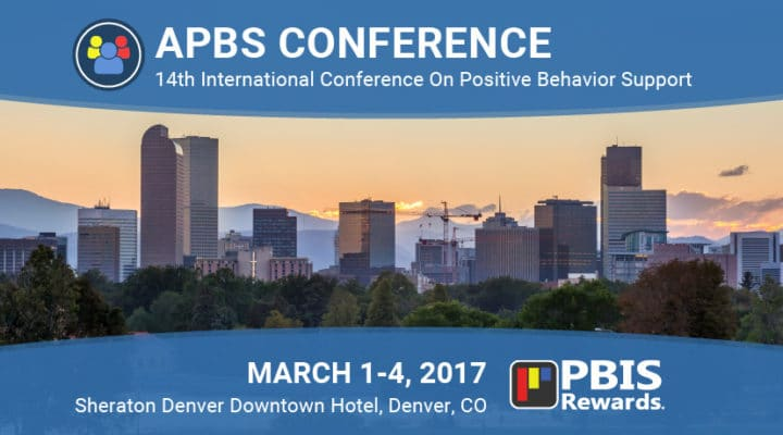 PBIS Rewards Will Be On Display at the 2017 APBS Conference  in Denver, March 1-4, 2017