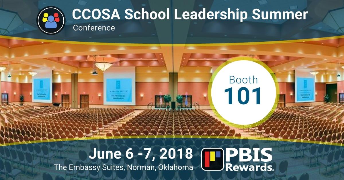 ccosa 2018 conference norman oklahoma pbis rewards