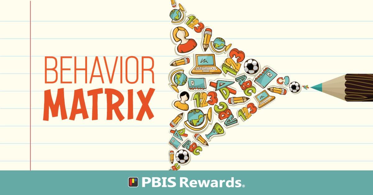 Classroom Behavior Matrix