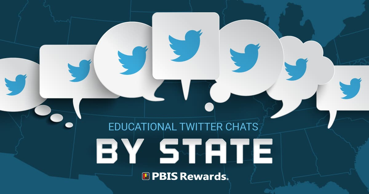 edu twitter chats by state