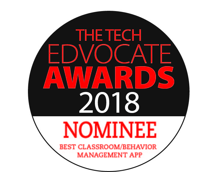 2018 Tech Edvocate Awards Nominee - Best Classroom/Behavior Management App