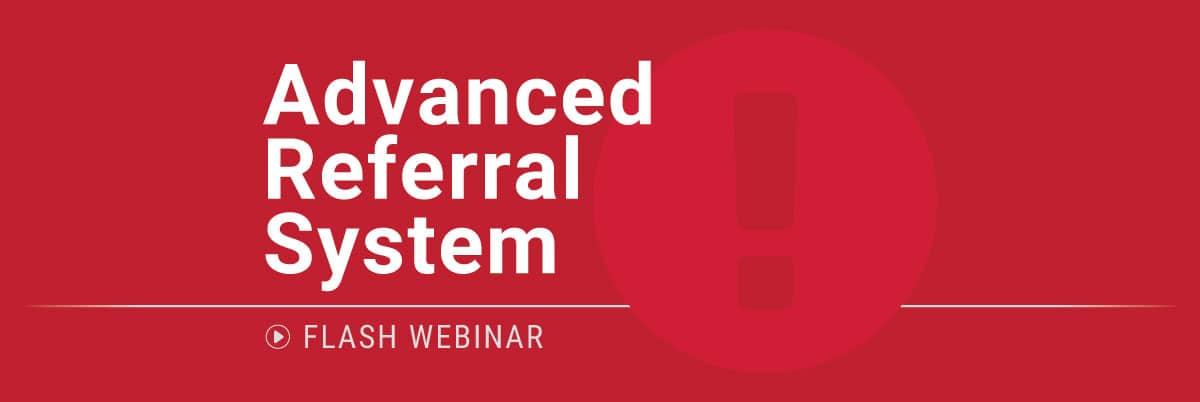 PBIS Rewards Flash Webinar - Advanced Referral System