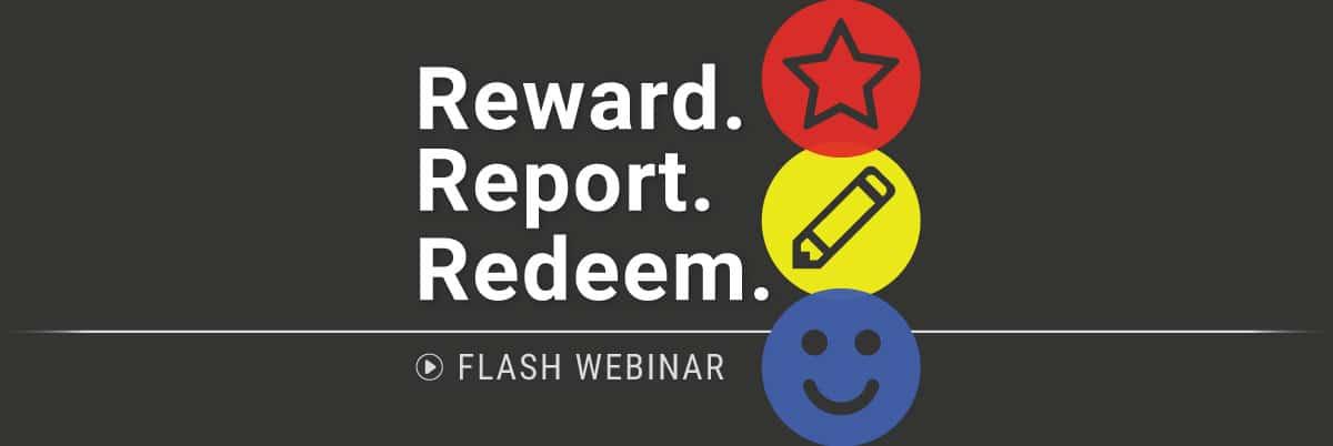 PBIS Rewards Flash Webinar - Reward. Report. Redeem.