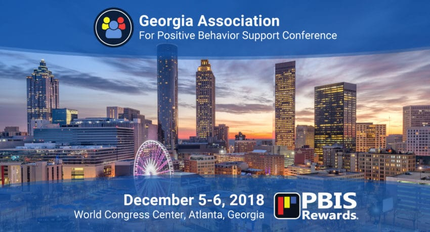 Meet PBIS Rewards at the 2018 GAPBS Conference, December 5-6