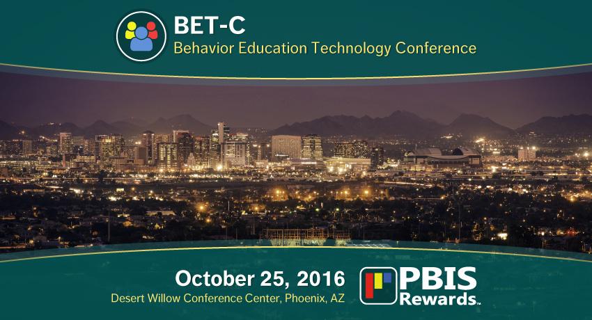 PBIS BET-C Phoenix, AZ 2016