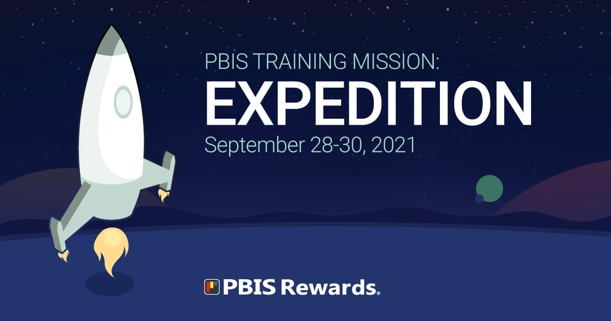pbis rewards training expedition september 2021