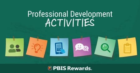 pbis professional development activities