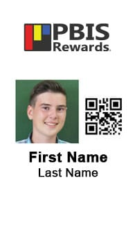 pbis rewards id badge