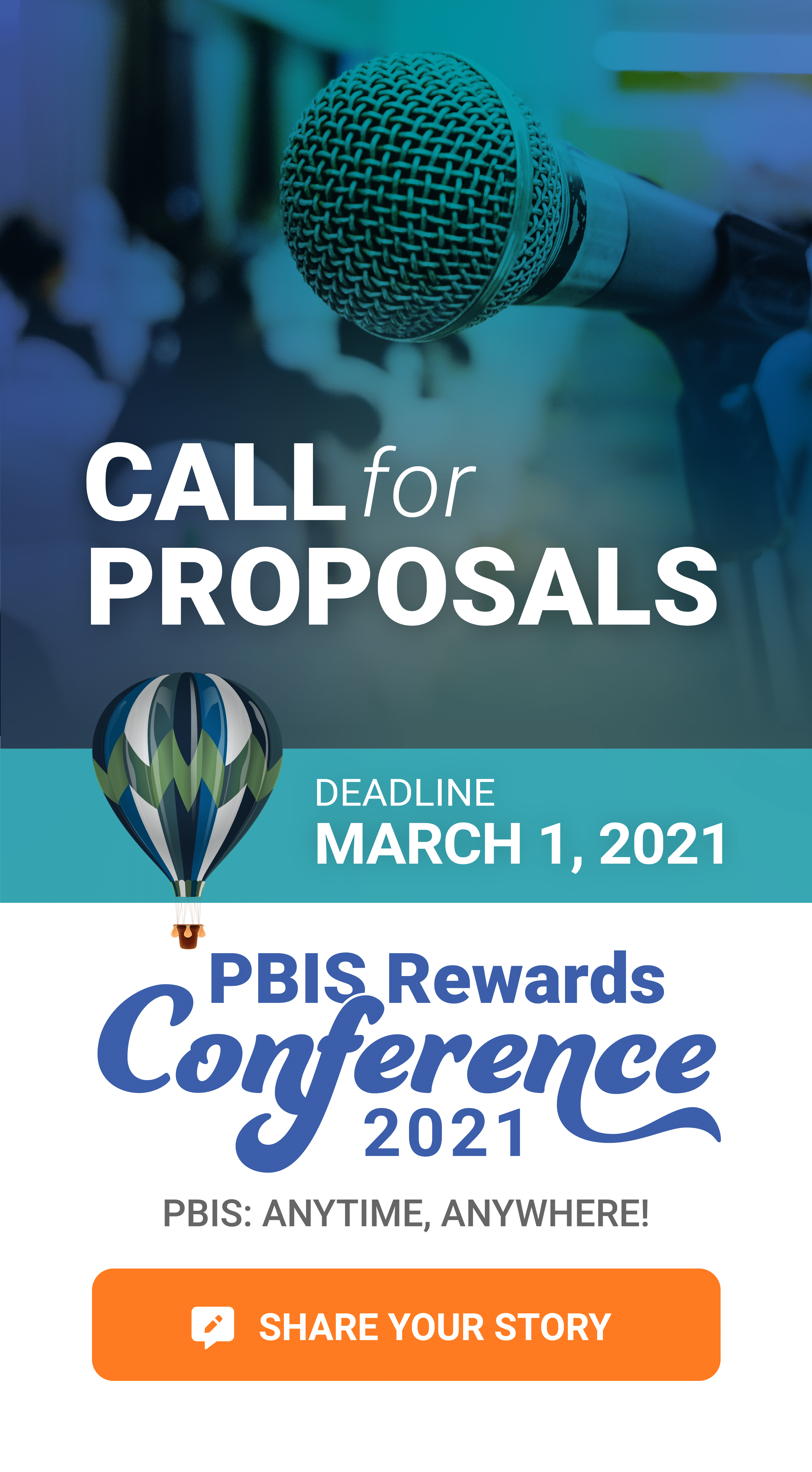 PBIS Rewards Conference 2021 Call for Proposals