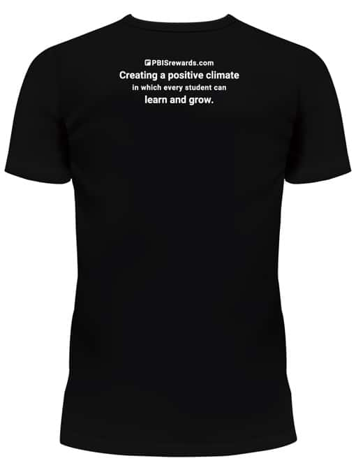 pbis rewards t-shirt (back)