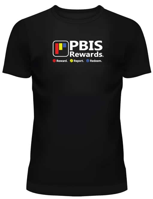 pbis rewards t-shirt (front)