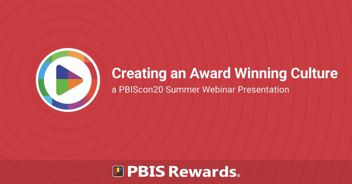 Creating an Award Winning Culture PBIScon20 webinar