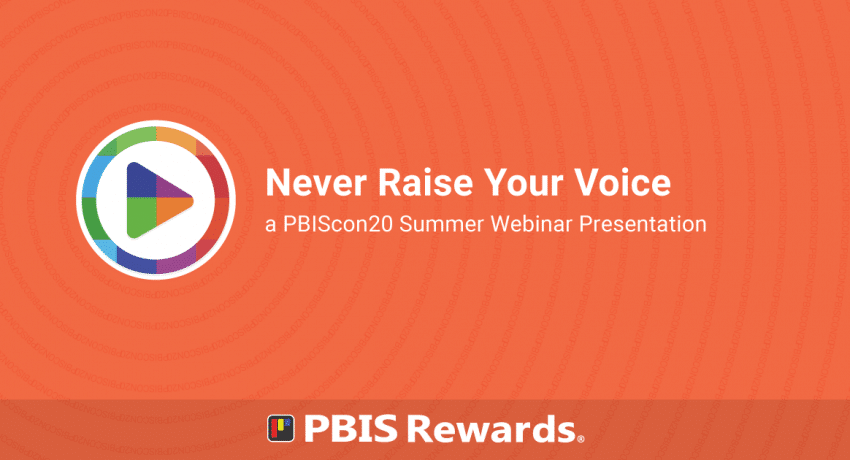 pbiscon20 webinar - never raise your voice