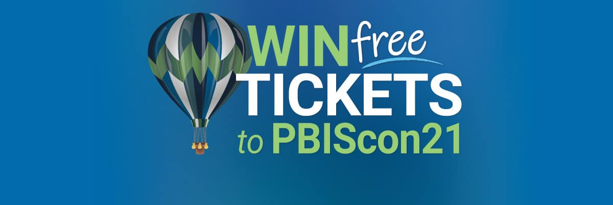Win tickets to attend PBIScon21!