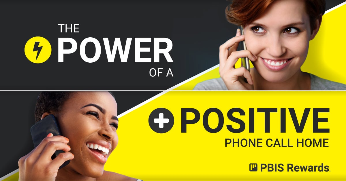 positive phone call home