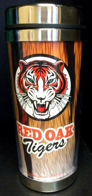 red oak middle school mug