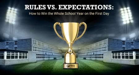 rules vs expectations first day of school