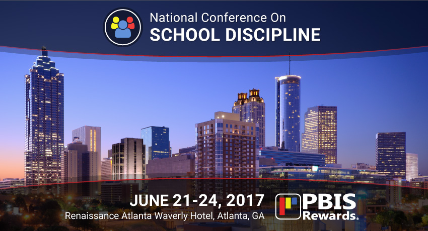 pbis rewards in atlanta at the national conference on school discipline 2017