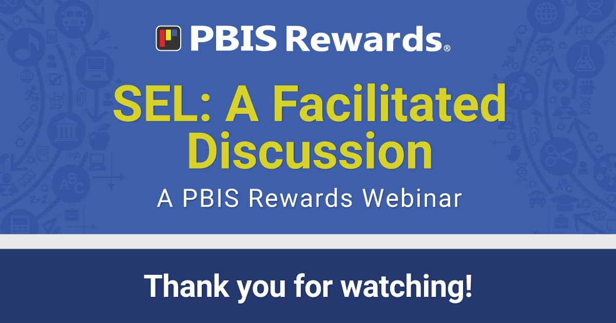 sel a facilitated discussion webinar