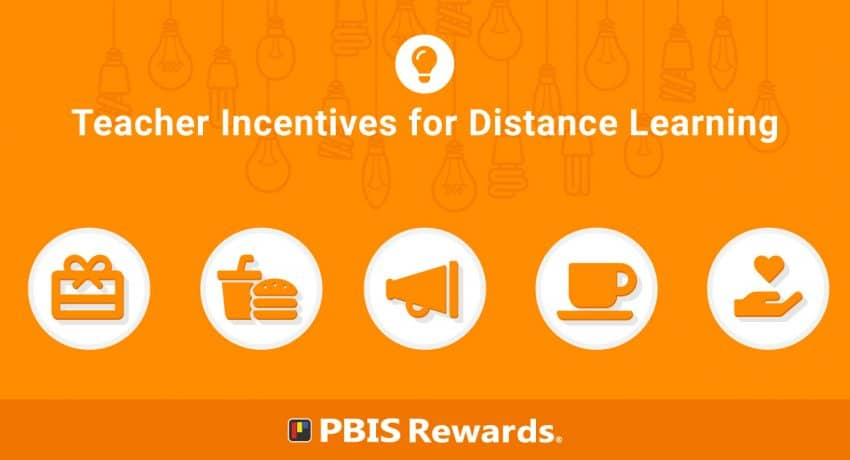 teacher incentives for distance learning
