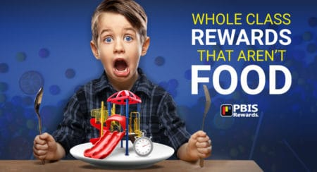 whole class rewards not food
